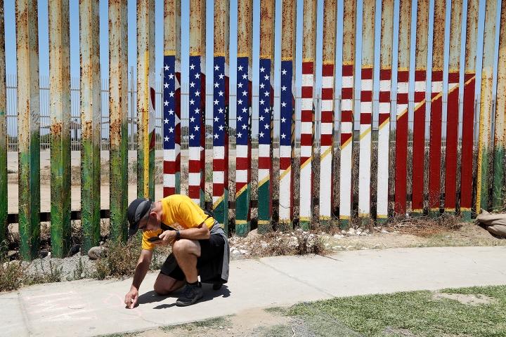 Frontera de Playas de Tijuana (México y Estados Unidos, 2018)
