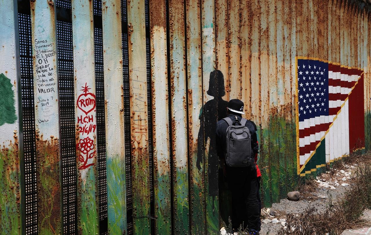Cuando la pesadilla americana es el sueño de miles de latinoamericanos que migran hacia la frontera