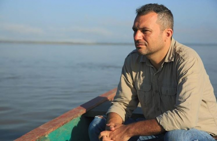 El periodista Federico Benítez.
