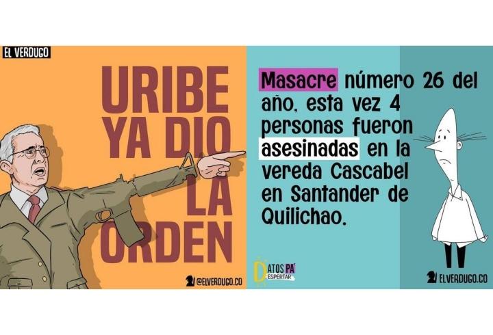 """""""Un pueblo ignorante jamás va a salir de la sumisión del Estado"""", afirma el caricaturista El Verdugo"""