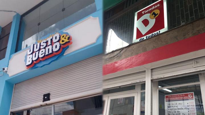 Tiendas D1 y Justo & Bueno