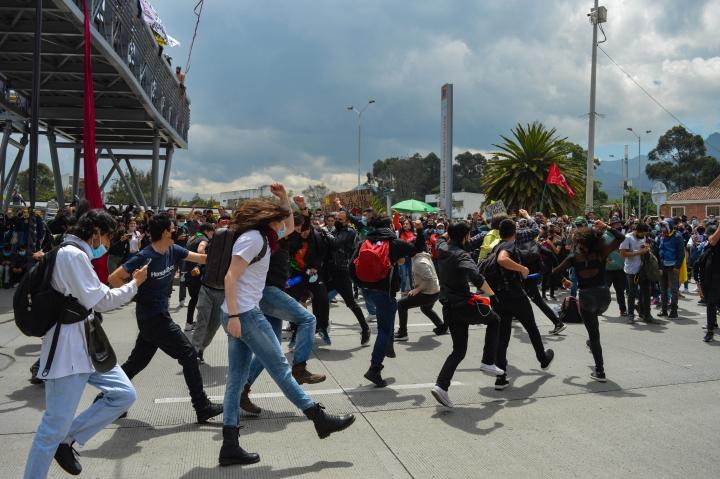 Manifestación U.Nacional