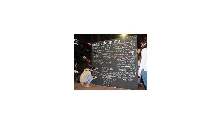 'Antes de morir quiero...'
