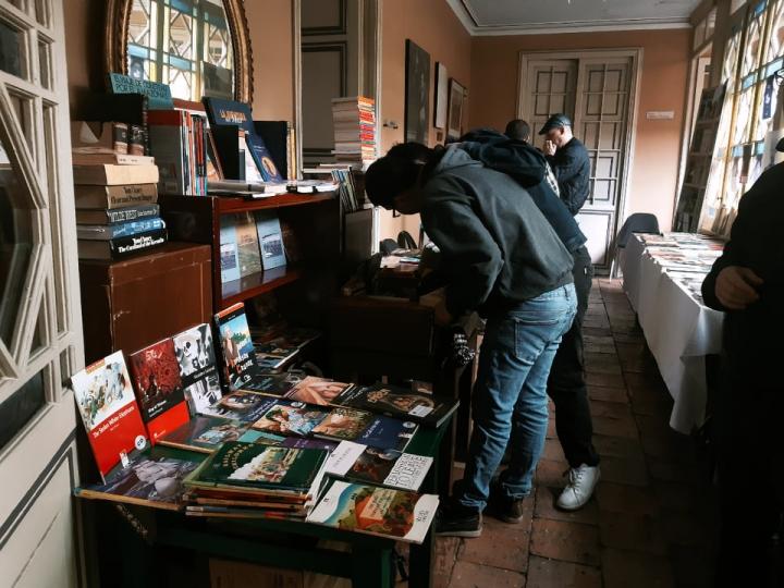 Feria del Libro. 21 de febrero.