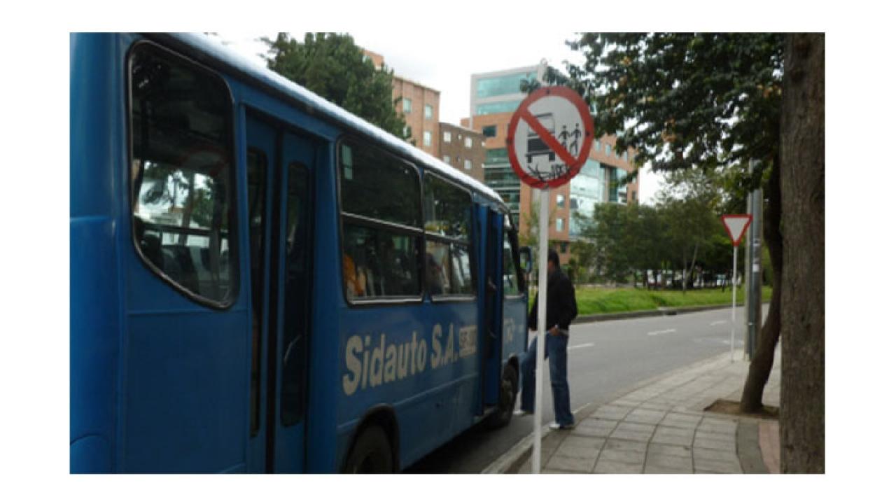 Infracciones frente a las señales de tránsito