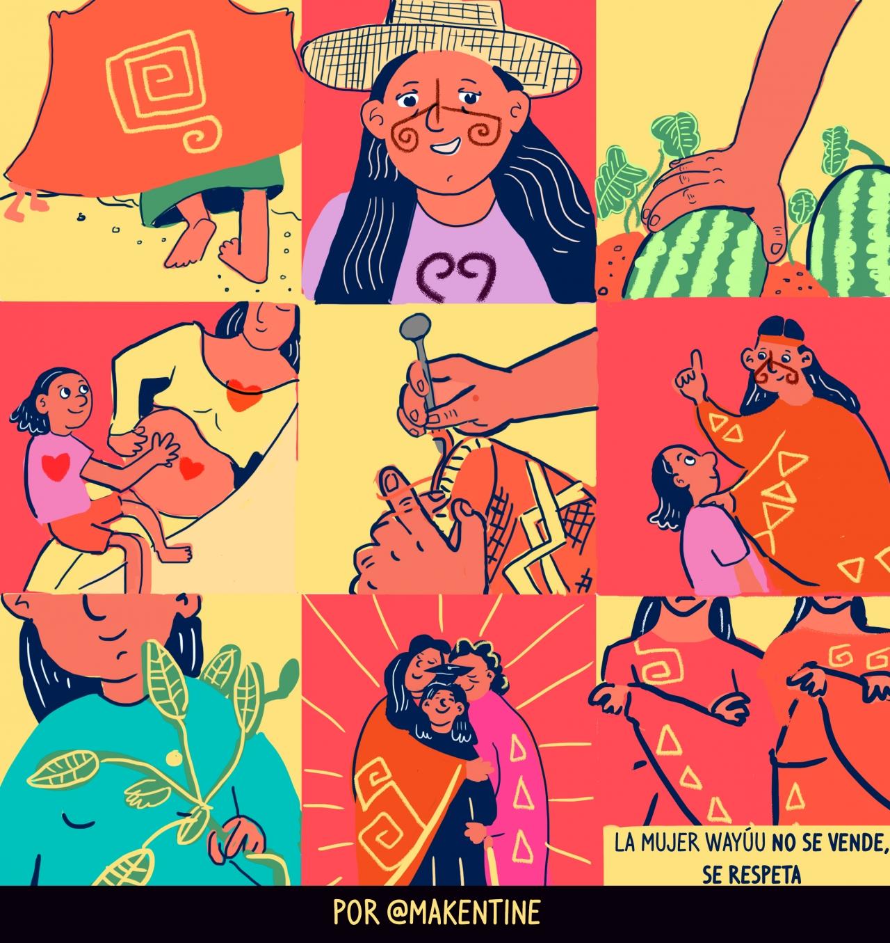 La mujer wayúu no se vende, se respeta