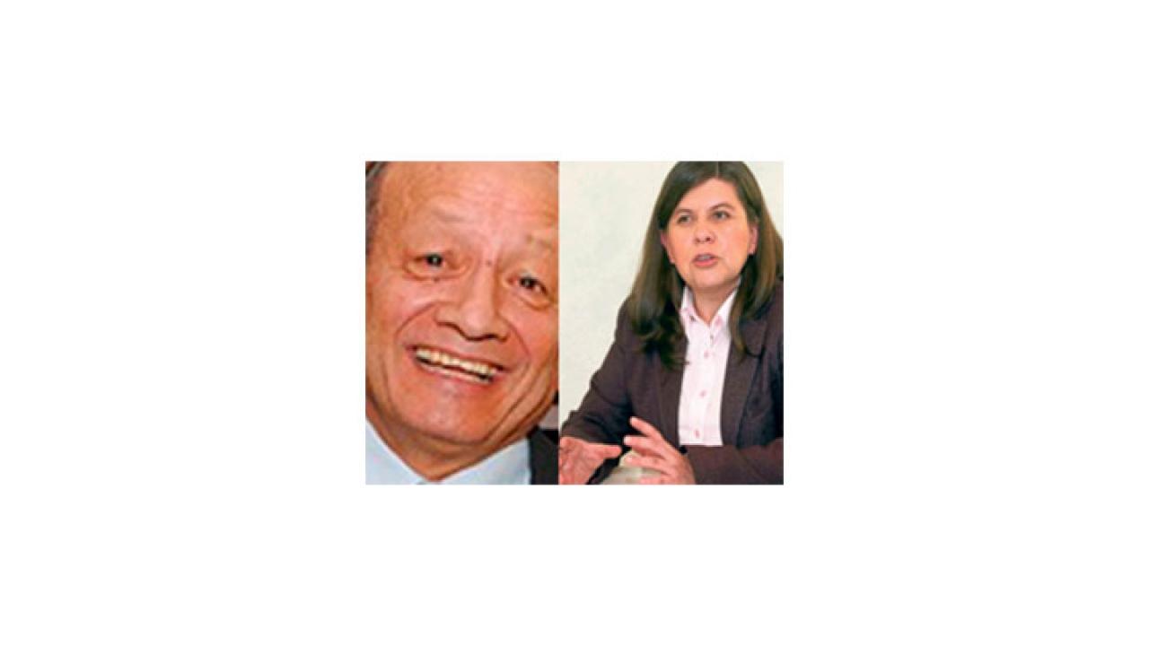 Gloria Flórez reemplaza a Hugo Zárrate en la Secretaría de Gobierno de Bogotá