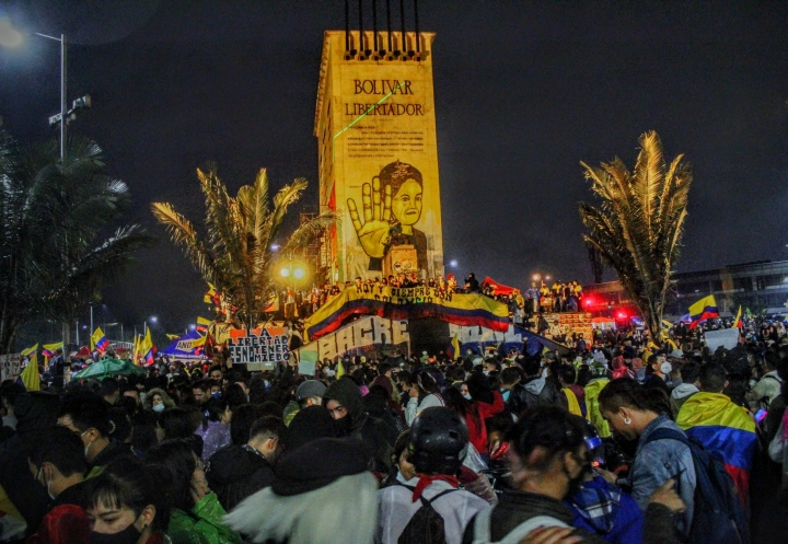 """""""El pueblo se respeta, carajo"""", fotogalería después de un mes de movilizaciones"""
