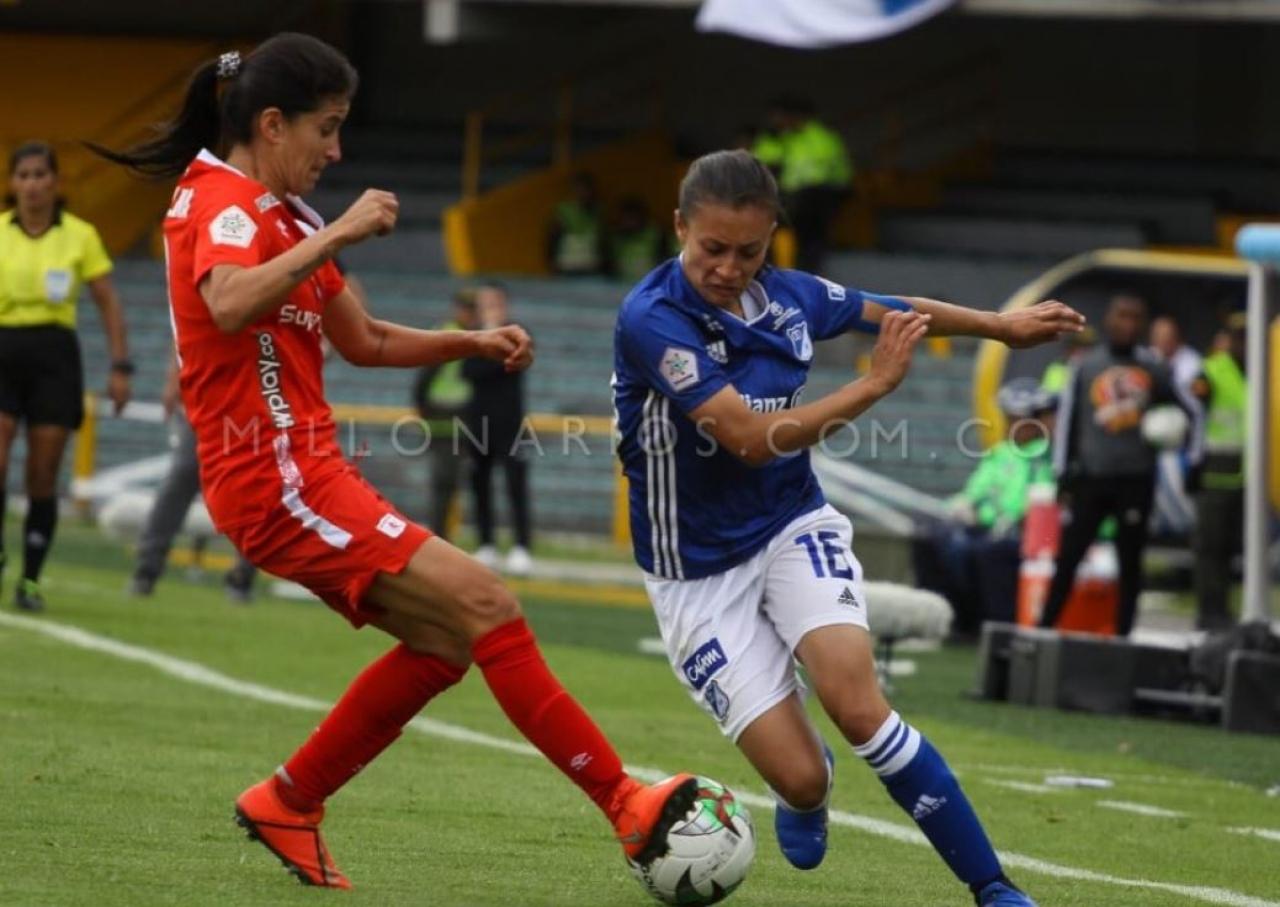 La mala hora de la liga de fútbol femenina en Colombia