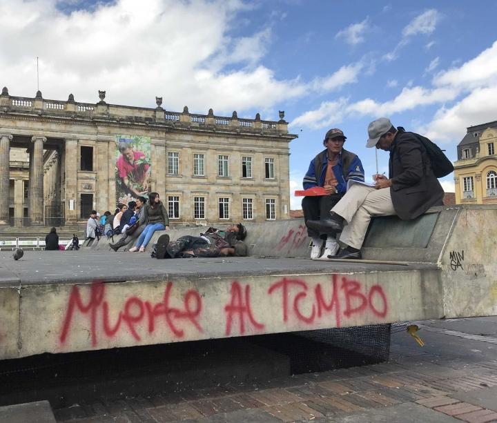 ¿Cómo quedó la Plaza de Bolivar después del Paro Nacional?