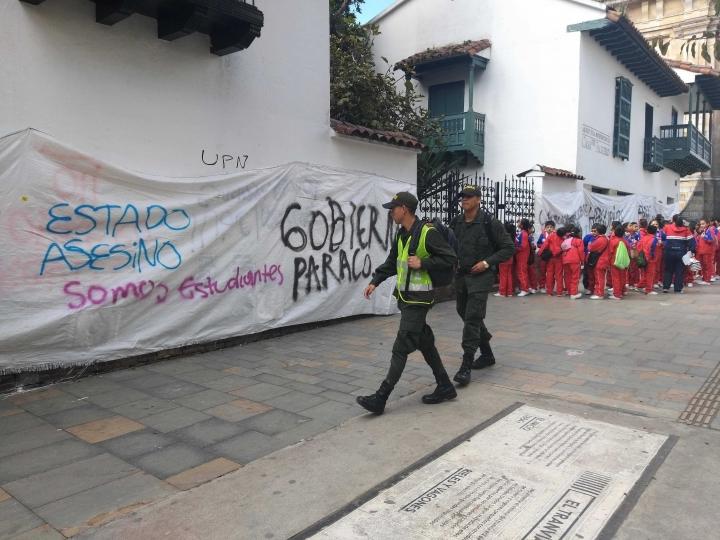 Una de las razones de protestas en el Paro Nacional fue la educación. Estudiantes reclaman por calidad y dignas oportunidades de acceso.