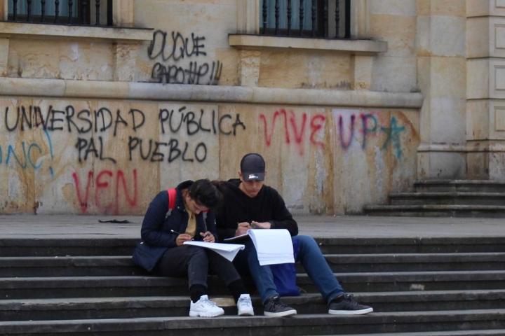Los estudiantes aún siguen a la espera del cumplimiento de los pactos por la educación.