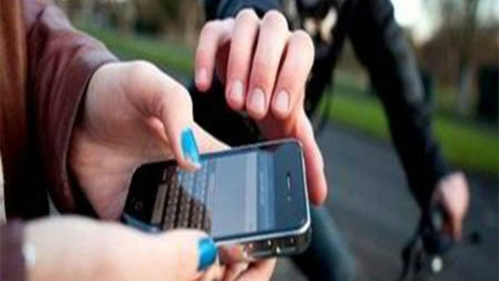 El hurto de celular uno de los factores que genera inseguridad en Bogotá.