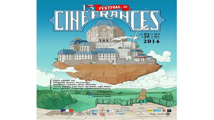 El afiche oficial fue creado por el ilustrador Juan Díaz B. Está inspirado  en el Gaumont  Palace, las salas de cine parisinas fundadas en 1.900.