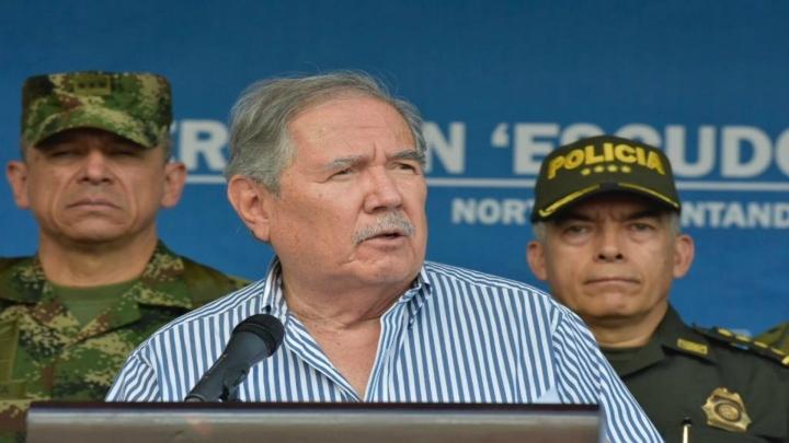 Ministro Botero en comunicado sobre 'Operación Escudo'
