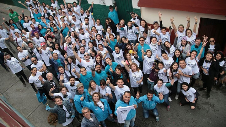 Voluntarios en labor social
