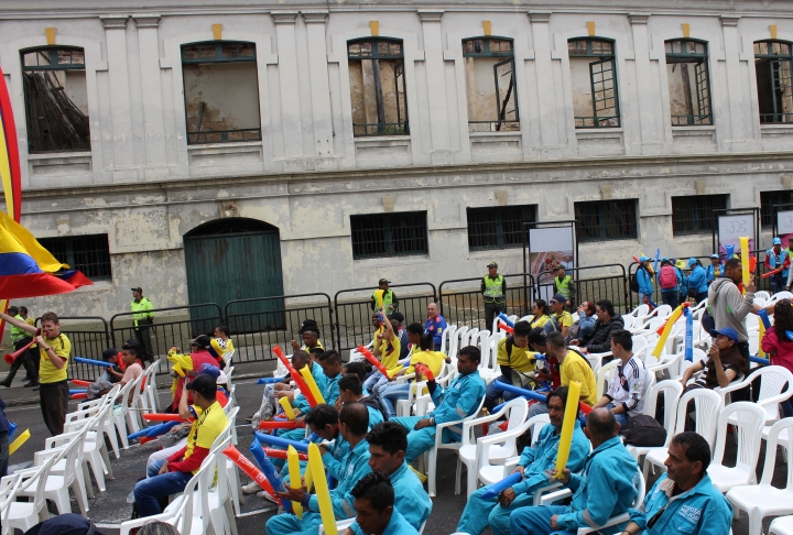 Así se vivió el partido de Colombia en el antiguo Bronx