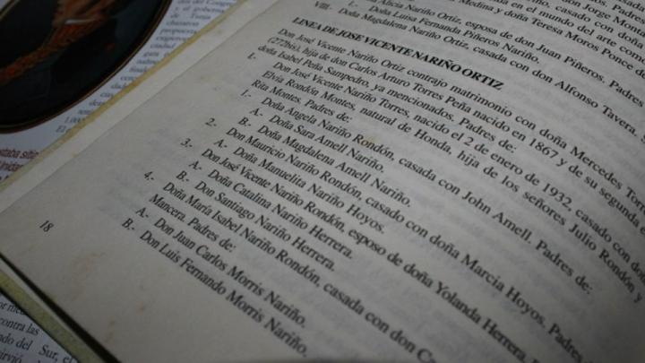 Libro Genealogía