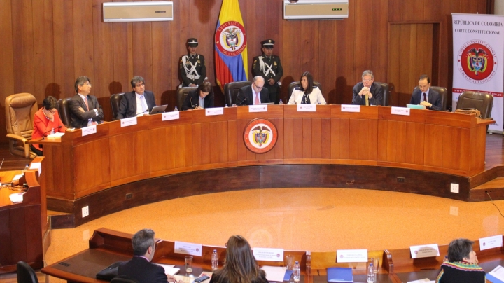 Audiencia de la Corte Constitucional sobre la libertad de expresión y opinión en redes sociales.