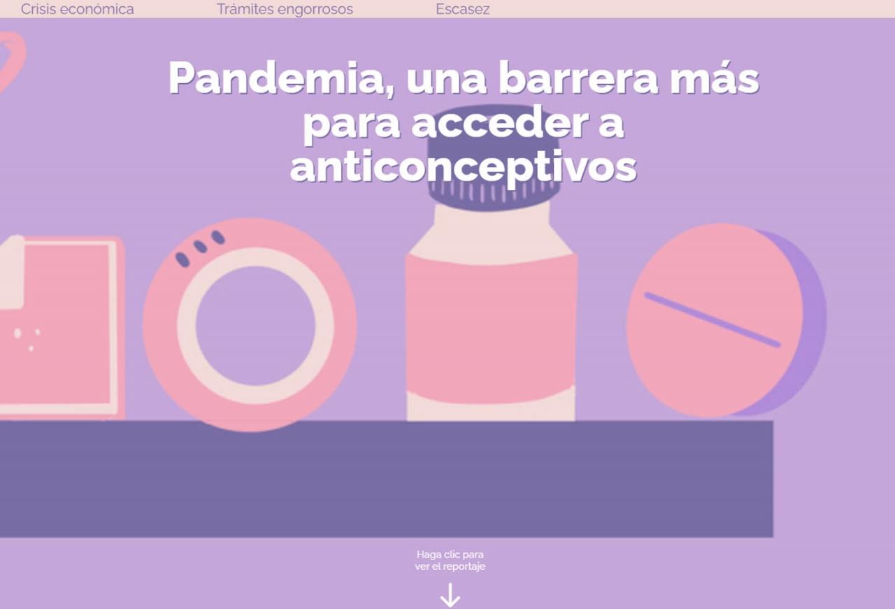 Pandemia, una barrera más para acceder a anticonceptivos en Colombia