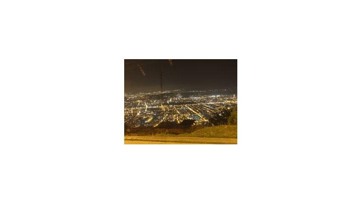 Panorámica de Bogotá desde el barrio Cerro Norte.