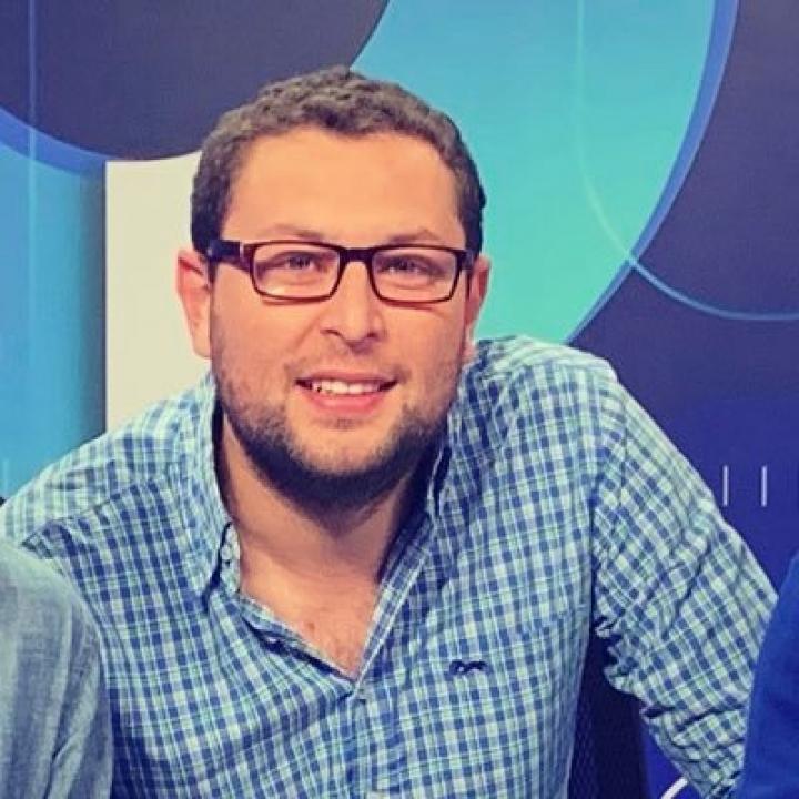 Sebastián Heredia, periodista deportivo.