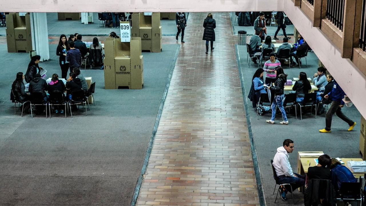 Abstención electoral en Colombia