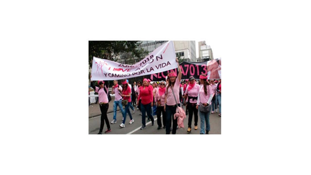 Color rosa por una buena causa