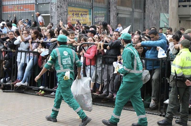La Bogotá que no estaba lista para el papa
