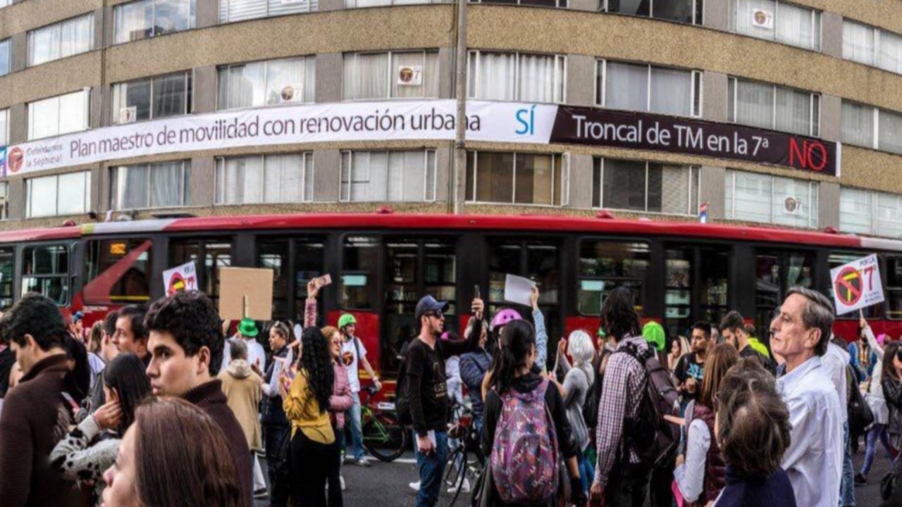 TransMilenio por la Séptima y sus posibles afectaciones a la movilidad