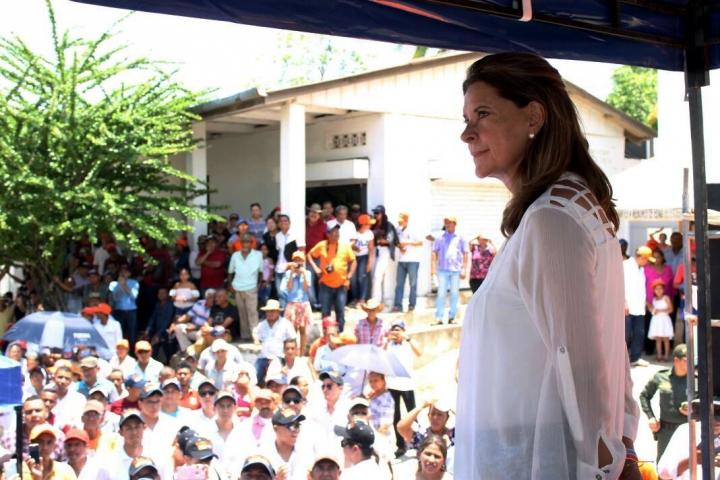 La exministra de Defensa Marta Lucía Ramírez es la fórmula vicepresidencual de Iván Duque.