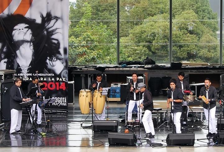 Aché Sonora Audiciones para convocatoria de Salsa al Parque, 26 de marzo de 2014