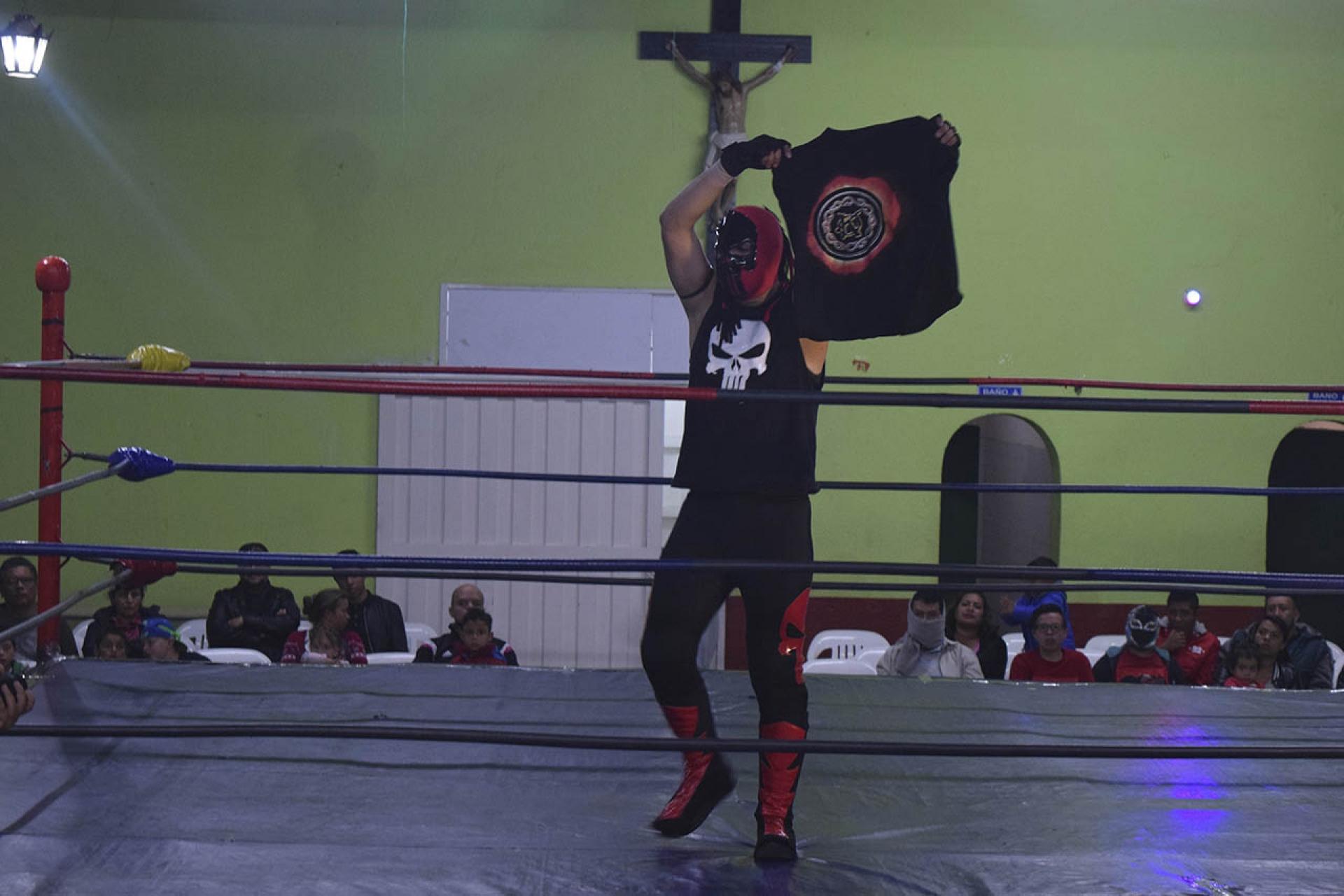 El Castigador en el ring