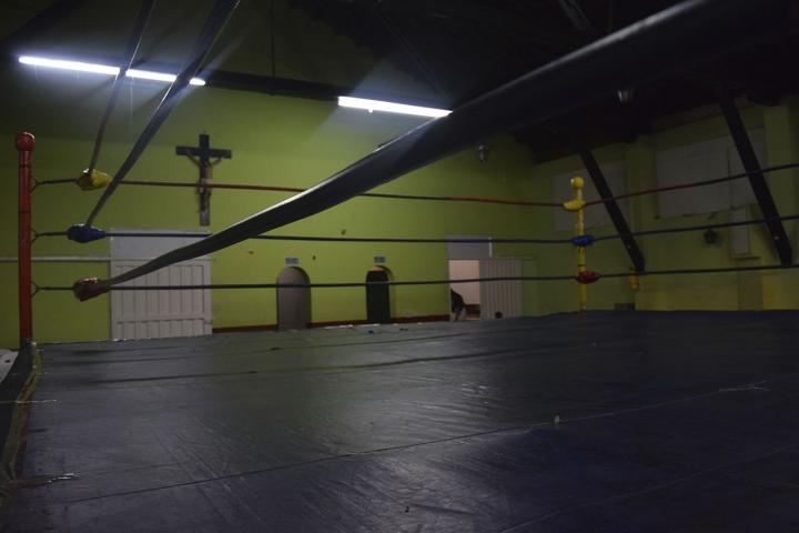 El ring de la Arena San Fernando