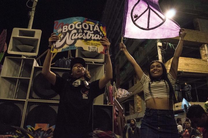 Así se vivió el Septimazo Cultural en Bogotá