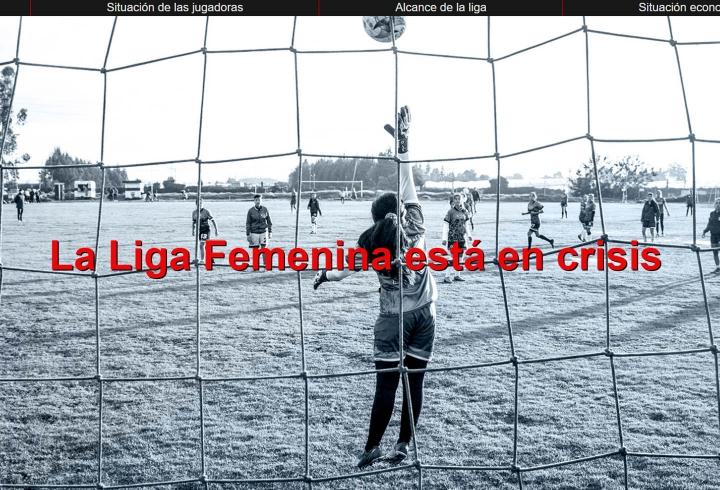 La Liga de fútbol femenino está en crisis