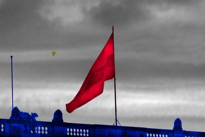 Fotoilustración 'El Trapo Rojo'
