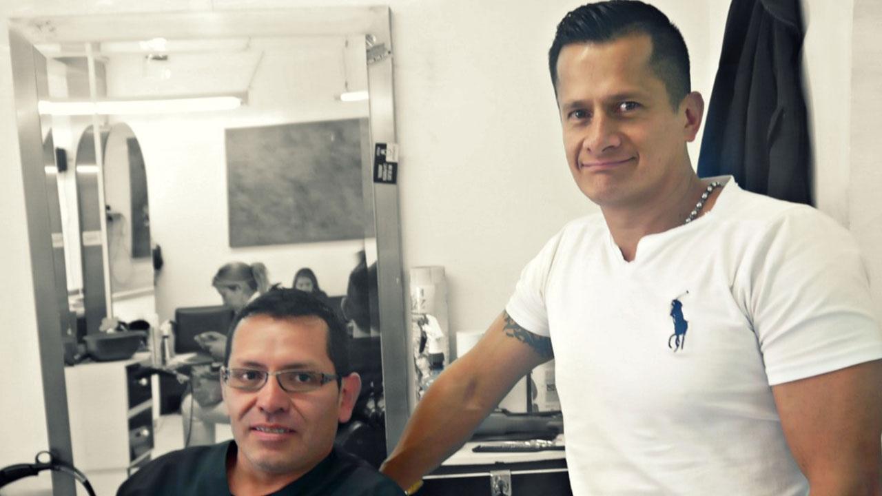 Éxitos: una peluquería donde trabajan sordomudos