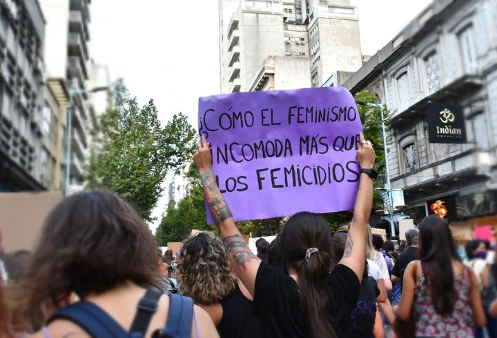 Las marchas del 8M en Montevideo, Uruguay