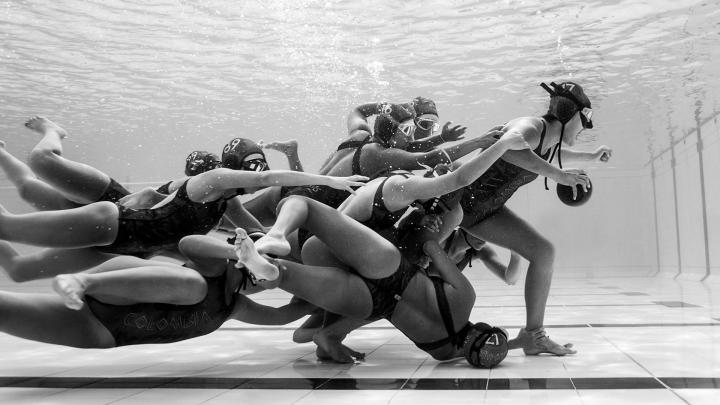 Selección Colombiana femenina sub 21 de rugby subacuático