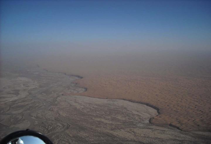 Climas extremos en Afganistán verano