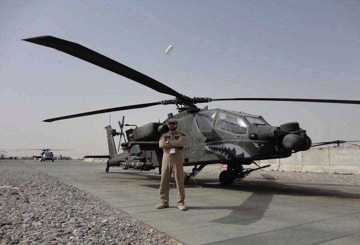 John Jairo en Afganistán