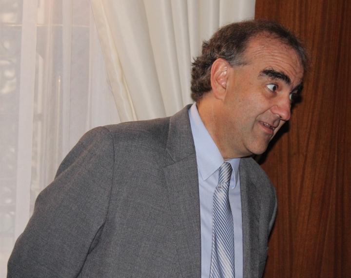 El director del diario El Espectador, Fidel Cano Correa. Foto: Santiago Buenaventura
