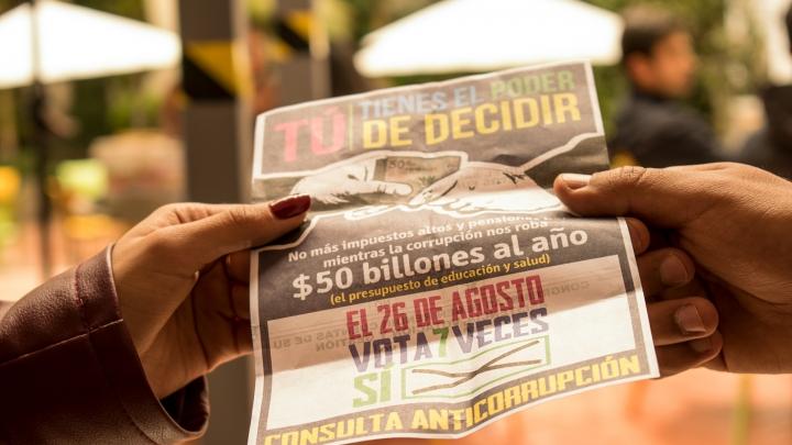 Consulta Anticorrupción. Crédito: Luis Carlos Mayorga A.