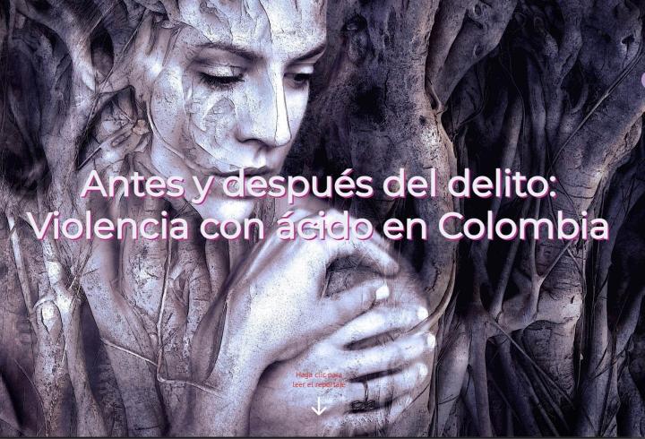 Antes y después del delito: violencia con ácido en Colombia