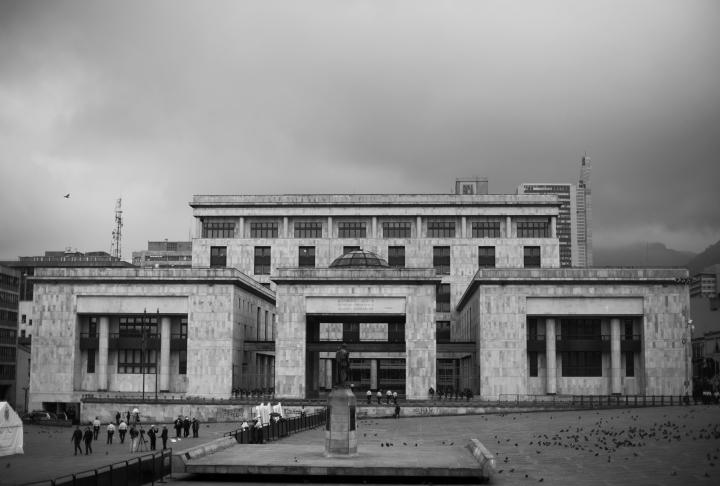 Imagen de la fachada del Palacio de Justicia