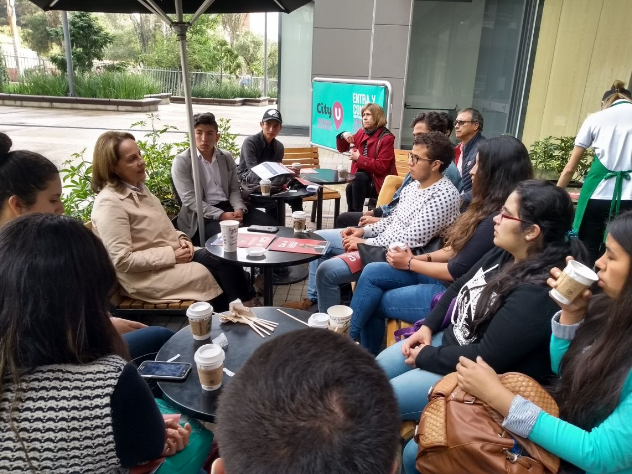 Un café con Rosalba de la Calle
