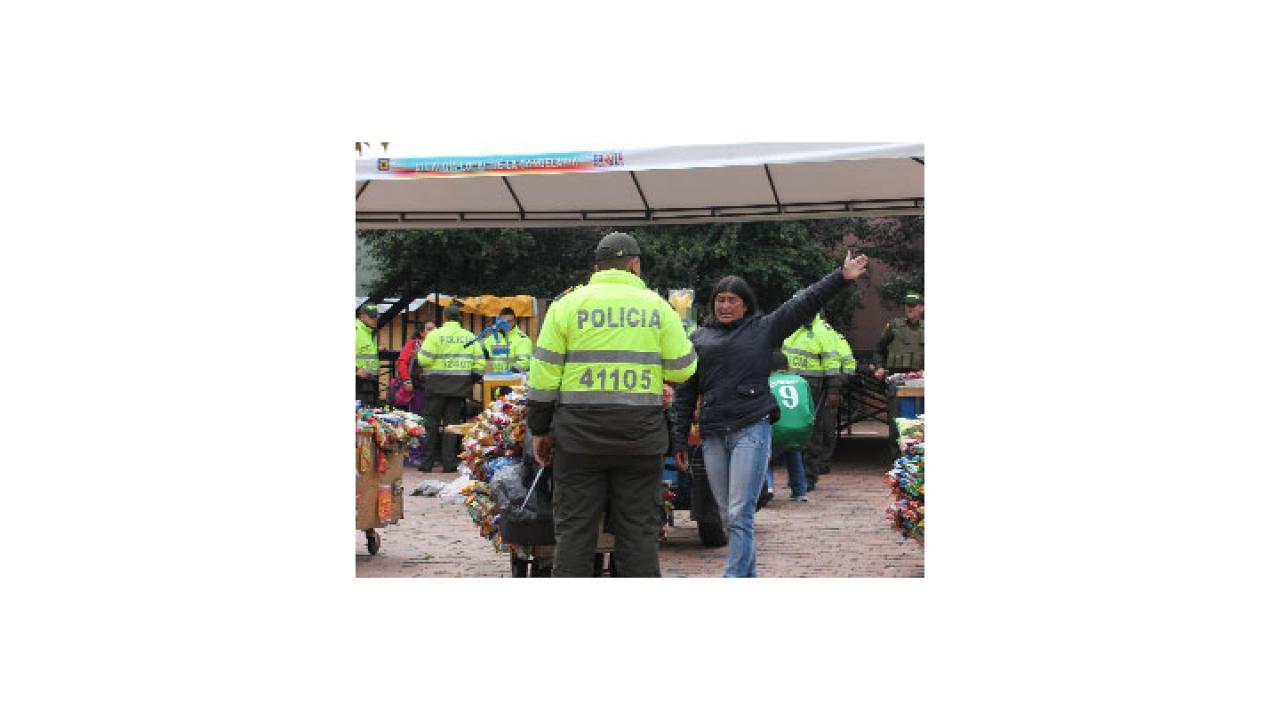 Alcaldía retira vendedores ambulantes