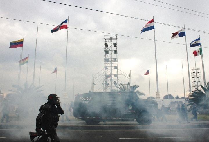 Así transcurrió la nueva jornada de manifestaciones en Bogotá