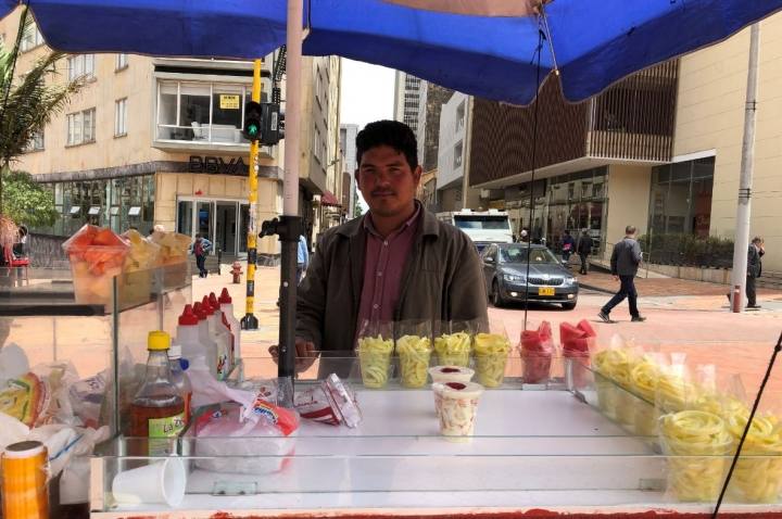 Cada día es más compleja la situación de los vendedores informales en Bogotá